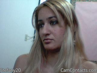 Start VIDEO CHAT with Stefany20
