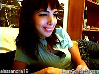 Start VIDEO CHAT with alessandra19