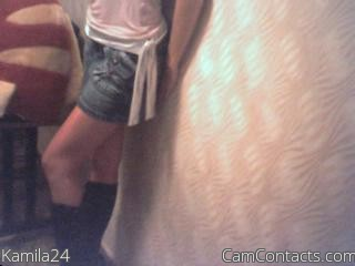 Start VIDEO CHAT with Kamila24