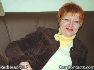 Start VIDEO CHAT with RedHeadMILF