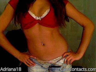 Start VIDEO CHAT with Adriana18