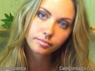 Start VIDEO CHAT with SweetValetta