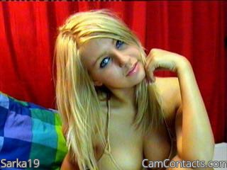 Start VIDEO CHAT with Sarka19