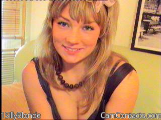 Start VIDEO CHAT with 1SillyBlonde