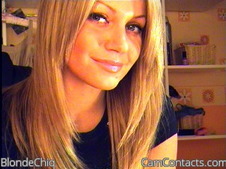 Start VIDEO CHAT with BlondeChiq