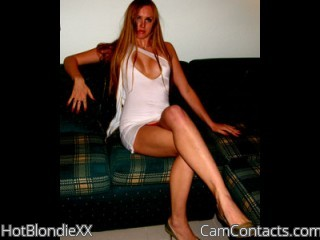 Start VIDEO CHAT with HotBlondieXX