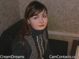 Start VIDEO CHAT with CreamDreams
