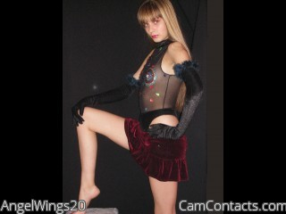 Start VIDEO CHAT with AngelWings20