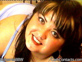 Start VIDEO CHAT with BohemiaBBW