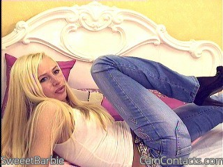 Start VIDEO CHAT with SweeetBarbie
