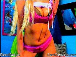 Start VIDEO CHAT with BlondDeLux