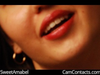 Start VIDEO CHAT with SweetAmabel
