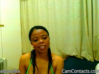 Start VIDEO CHAT with ebonyfire