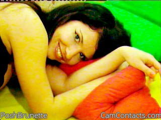 Start VIDEO CHAT with PoshBrunette