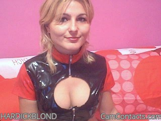 Start VIDEO CHAT with HARDICKBLOND