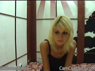 Start VIDEO CHAT with 00SweetKatya
