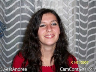 Start VIDEO CHAT with SweetAndree