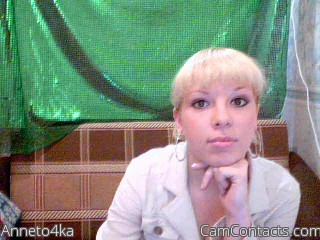 Start VIDEO CHAT with Anneto4ka