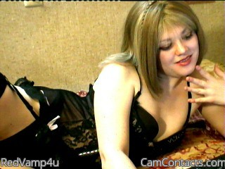 Start VIDEO CHAT with RedVamp4u