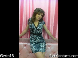 Start VIDEO CHAT with Gerta18
