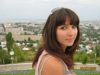 Start VIDEO CHAT with CandyBrunete