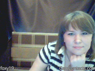 Start VIDEO CHAT with foxy19
