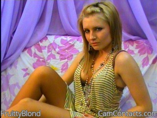 Start VIDEO CHAT with FruittyBlond