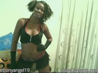 Start VIDEO CHAT with ebonyangel19
