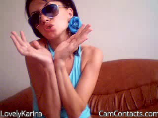 Start VIDEO CHAT with LovelyKarina