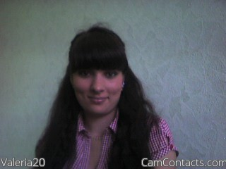 Start VIDEO CHAT with Valeria20