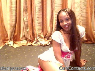 Start VIDEO CHAT with ebonycocoxx