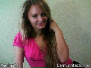 Start VIDEO CHAT with Paulina21