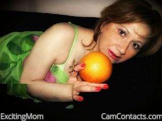 Start VIDEO CHAT with ExcitingMom