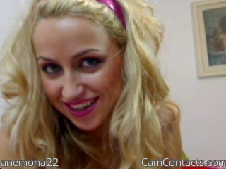 Start VIDEO CHAT with anemona22