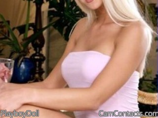 Start VIDEO CHAT with PlayboyDoll