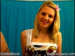 Start VIDEO CHAT with GoldieBlond