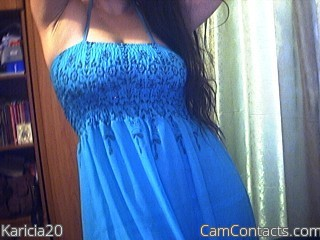 Start VIDEO CHAT with Karicia20