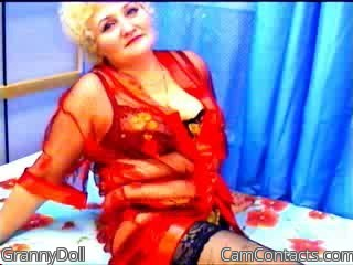 Start VIDEO CHAT with GrannyDoll