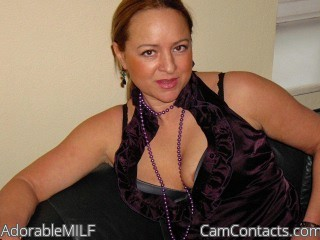 Start VIDEO CHAT with AdorableMILF