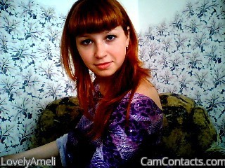 Start VIDEO CHAT with LovelyAmeli