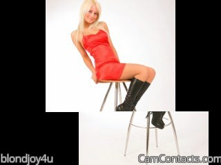 Start VIDEO CHAT with blondjoy4u