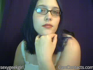 Start VIDEO CHAT with sexygeekgirl