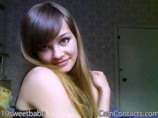 Start VIDEO CHAT with 19sweetbabe