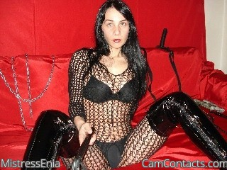 Start VIDEO CHAT with MistressEnia