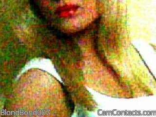 Start VIDEO CHAT with BlondBond007