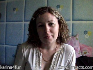 Start VIDEO CHAT with karina4fun