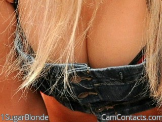 Start VIDEO CHAT with 1SugarBlonde