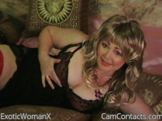 Start VIDEO CHAT with ExoticWomanX
