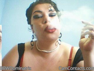 Start VIDEO CHAT with BBWDominatrix
