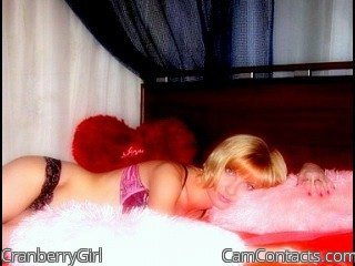 Start VIDEO CHAT with CranberryGirl